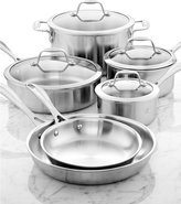 Zwilling J.A. Henckels Spirit 10-Piece Polished Stainless Steel Cookware Set