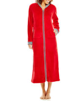 Asstd National Brand Comfort and Co. Long-Sleeve Zip-Front Robe