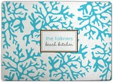 The Well Appointed House Personalized Cutting Board with Blue Coral Design