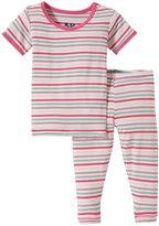 Kickee Pants Print Pajama Set (Baby) - Fairytale Stripe - 18-24 Months