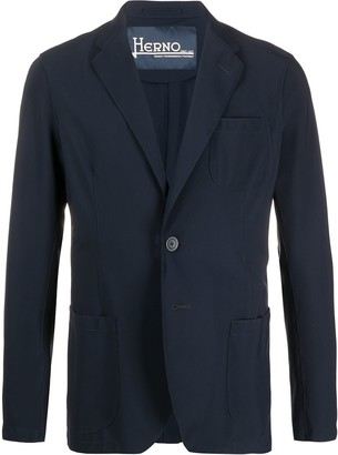 Herno Single Breasted Blazer