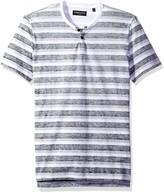 Kenneth Cole REACTION Mens Short Sleeve Mini Geo Print