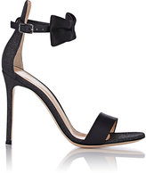 Gianvito Rossi Women's Bow-Detailed Sandals-BLACK
