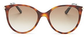 Bottega Veneta Bottega Venetta Women's Round Sunglasses, 54mm