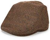 Daniel Cremieux Wool Houndstooth Driver Hat