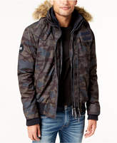 Superdry Men's SD-Windbomber Camo Microfiber Jacket