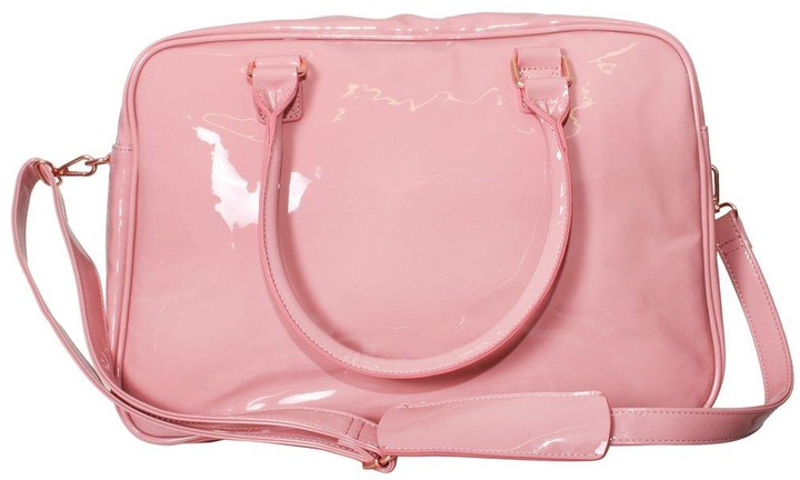 Thumbnail for your product : My Babiie Billie Faiers Patent Pink Changing Bag