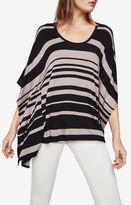 BCBGMAXAZRIA Lucilla Striped Poncho