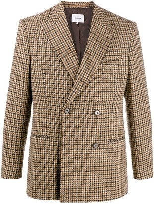 Nanushka Double-Breasted Suit Jacket