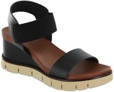 Mia Pull On Wedge Sandals - Adely