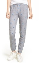 Wildfox Couture Women's Football Star Knot Sweatpants