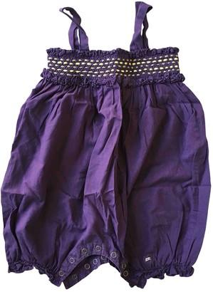 Lili Gaufrette Purple Cotton Outfits
