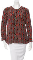 Thakoon Printed Button-Up Top