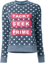GUILD PRIME 'Tacky Geek Prime' sweatshirt - women - polyester - 34