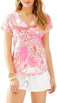 Lilly Pulitzer Duval Linen Top