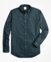 Brooks Brothers Milano Fit Brushed Gingham Sport Shirt