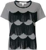 Marc Jacobs fringe detail T-shirt