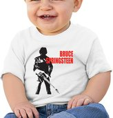 Atoggg Infants &Toddlers Baby's Bruce Springsteen T Shirts For 6-24 Months