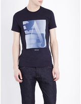 Armani Jeans Made In Italy Stretch-cotton T-shirt