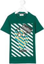 Fendi cactus motif t-shirt - kids - Cotton - 4 yrs