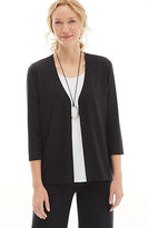 J. Jill Wearever V-Neck Jacket