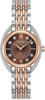 Bulova Diamonds Ladies' Two Colour Steel Bracelet Watch