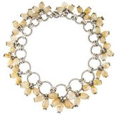 Stephen Dweck Rutilated Quartz Bead Collar Necklace
