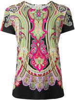 Etro Persian print T-shirt - women - Spandex/Elastane/Viscose - 40