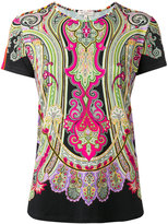 Etro Persian print T-shirt - women - Spandex/Elastane/Viscose - 42