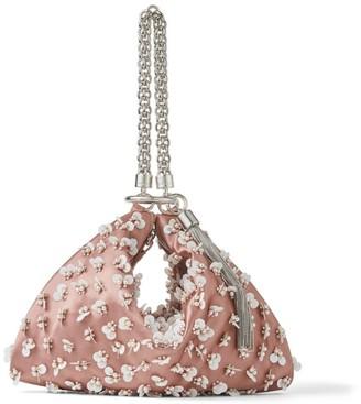 Jimmy Choo Medium Embellished Satin Callie Clutch Bag
