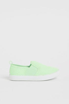 H&M Mesh Slip-on Shoes