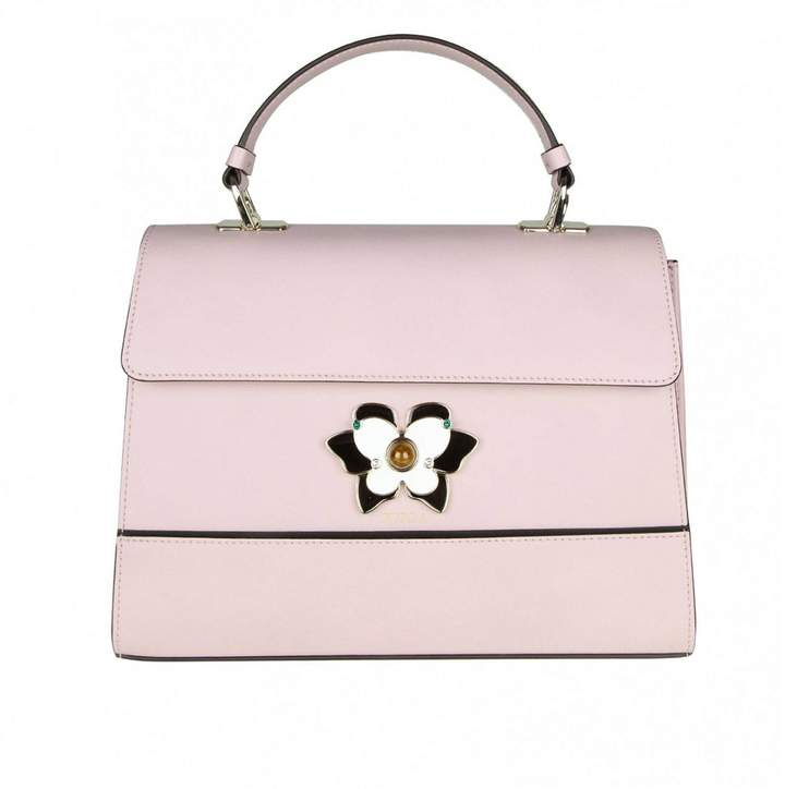 Furla Handbag Altea M Bag In Smooth Leather With Butterfly Jewel Closure