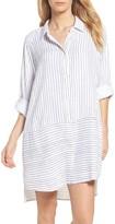 DKNY Women's Stripe Sleep Shirt