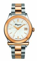 Salvatore Ferragamo Men's FF3070014 1898 Two-Tone Stainless Steel Watch