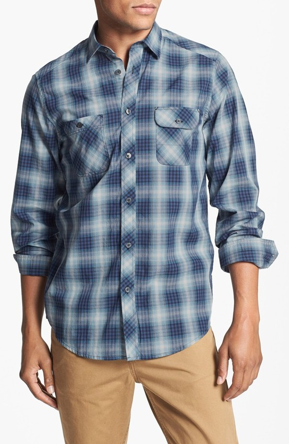 Ben Sherman Plaid Woven Shirt