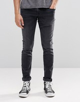 Pepe Jeans Pepe Finsbury Skinny Jeans D91 Washed Black