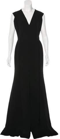 Victoria Beckham Silk & Wool-Blend Evening Dress w/ Tags