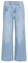 MiH Jeans Caron Embroidered Jeans