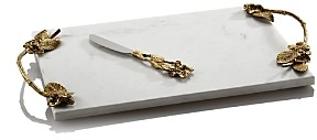 Michael Aram Hydrangea Cheese Board with Knife - 100% Exclusive