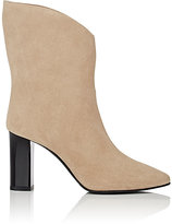 Acne Studios Women's Ava Suede Ankle Boots-BEIGE, TAN