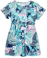 Lilly Pulitzer Stasia Dress (Toddler/Little Kids/Big Kids) (Multi) Girl's Dress