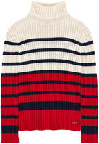 Junior Gaultier Ribbed knit sweater