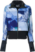 adidas by Stella McCartney patterned rain jacket
