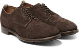 Officine Creative - Princeton Suede Derby Shoes