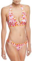 Emilio Pucci Arenal Printed Two-Piece Bikini Swim Set