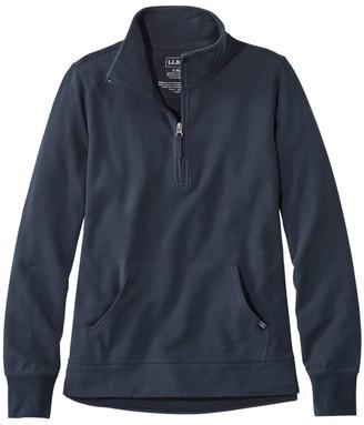 L.L. Bean Women's Ultrasoft Sweats, Quarter-Zip Pullover