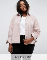 Asos Shacket With Bow Sleeve