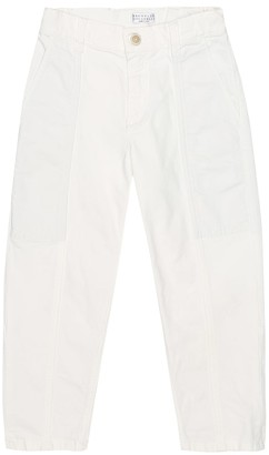 BRUNELLO CUCINELLI KIDS Exclusive to Mytheresa Stretch-cotton jeans