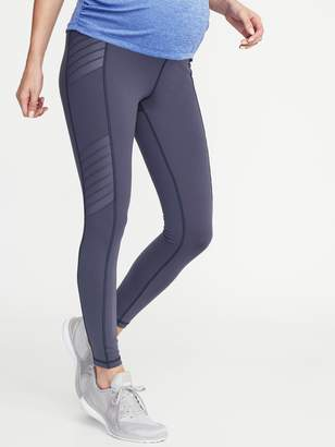 Old Navy Maternity High-Waisted Moto Compression 7/8-Length Street Leggings