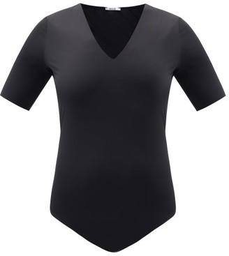 Wolford Vermont Short-sleeved Bodysuit - Black